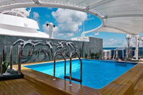 Le Pont One Pool - Espace exclusif MSC Yacht Club