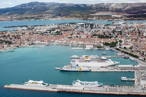 Le port croate de Split