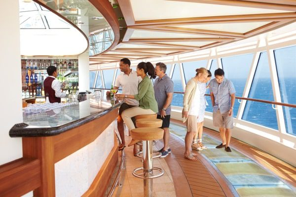 SeaView bar qu'on retrouve sur le Royal Princess